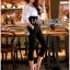 Lady Gabrielle Sexy Sweet Off-Shoulder High-Wasited Jumpsuit L266-7918 thumbnail 3