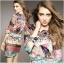 Lady Florence Hippie Chic Printed Satin Dress L191-75C07 thumbnail 12