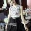 Lady Maria Little Princess Embellished Lace and Satin D&G Dress L203-89C09 thumbnail 7