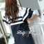 DR-LR-155 Lady Natasha Striped Dress in Navy Style thumbnail 3