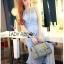 Lady Nara Feminine Elegant Crystal Embroidered Lace Dress L267-8514 thumbnail 3