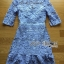 Lady Ariana Sweet Feminine French Lace Dress in Light Blue L217-95C17 thumbnail 6