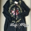 DR-LR-273 Lady Kate Flower Embroidered Shirt Dress in Black thumbnail 9