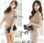 DR-LR-180 Lady Christine Sophisticated Sexy Dress in Nude thumbnail 6