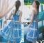 Dolce & Gabbana Italian White & Blue Printed Button-Down Dress L241-69B02 thumbnail 1