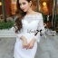 DR-LR-201 Lady Natalie Elegant Crystal Embellished Insert Lace Dress thumbnail 7