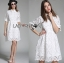 Lady Abigail Casual Lace Cotton Shirt Dress L275-8510 thumbnail 1