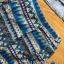 Lady Ashley Tribal Chic Denim Shirt and Printed Skirt Set L180-79C12 thumbnail 6