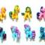SR009 ไข่เซอร์ไพร์ส Little Pony 3 ชั้น thumbnail 4