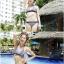 SM-V1-194 ชุดว่ายน้ำแฟชั่น คนอ้วน เด็ก ดารา thumbnail 2