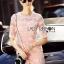 Lady Gabby Sweet Elegant Baby Pink Lace Dress L243-99C01 thumbnail 3