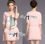 Lady Briony Playful Layered Sequin Dress Set สีชมพู thumbnail 3