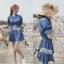 DR-LR-101 Lady Marissa Modern Country Denim Shirt Dress thumbnail 3