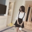 daisy stretch lace cotton andblack skirt Empoli set thumbnail 3