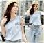Lady Blaire Sporty Chic Embellished Zipper Denim Jumpsuit L201-85C10 thumbnail 9