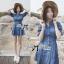 DR-LR-101 Lady Marissa Modern Country Denim Shirt Dress thumbnail 1