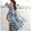 Lady Allo Hawaii Mini dress, Partysu Korea L135-59A09 thumbnail 3