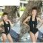 SM-V1-080 ชุดว่ายน้ำแฟชั่น คนอ้วน เด็ก ดารา thumbnail 4