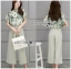 Lady Anna Smart Casual Floral Printed Top and Culottes Set L259-7916 thumbnail 5