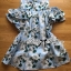 Lady Margaret Sweet Sexy Cut-Out Flower Printed Blue Dress thumbnail 9