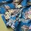 Lady Julia Electric Blue Floral Print Polyester Jumpsuit L127-69E08 thumbnail 5