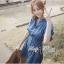 DR-LR-101 Lady Marissa Modern Country Denim Shirt Dress thumbnail 5