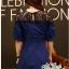 Dress denim lace shirt short race by Aris Code A222-75C02 thumbnail 5