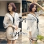 Miami Beach Embroidery Chiffon Dress thumbnail 4
