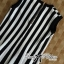 DR-LR-206 Lady Carissa Sleeveless Striped Knit Dress in Black and White thumbnail 10