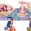DA007 (ของแท้) wowwee Glitter fingerling ตุ๊กตาลิง มีชีวิต -ชมพู thumbnail 2