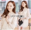 Jessica Sweet Elegant High-Neck Guipure Lace Dress in Off-White L219-75C04 thumbnail 1