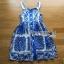 Dolce & Gabbana Italian White & Blue Printed Button-Down Dress L241-69B02 thumbnail 12