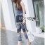 Lady Cassandra Casual Chic Striped Lace Tank Top and Pants Set L266-7911 thumbnail 7