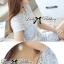 DR-LR-143 Lady Samantha Jewelled Neckline Lace Tube Dress with Belt thumbnail 14
