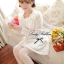 DR-LR-037 Lady Cherish Sweet Feminine Long-Sleeved Lace Dress thumbnail 7