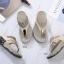 รองเท้าสุขภาพแบบใหม่เทรนด์เกาหลีพื้นสุขภาพคีบเพชร thumbnail 9