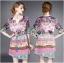 Lady Florence Hippie Chic Printed Satin Dress L191-75C07 thumbnail 10