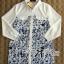 DR-LR-242 Lady Lara Summer Floral Print Shirt Dress thumbnail 6