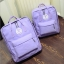 Feminine Classic Mini Backpack (Pastel Purple) thumbnail 1