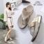 รองเท้าสุขภาพแบบใหม่เทรนด์เกาหลีพื้นสุขภาพคีบเพชร thumbnail 5