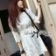 Dahong white chill out circle lace Mini dress L136-49A12 thumbnail 4
