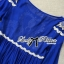 DR-LR-151 Lady Jacqueline Embroidered Chiffon Pleated Dress in Electric Blue thumbnail 12