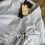 Lady Emily Basic Striped Shirt Dress in White thumbnail 6