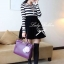 DR-LR-083 Lady Ballerina Stripe Black&White Mini Dress thumbnail 2