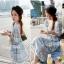 Lady Allo Hawaii Mini dress, Partysu Korea L135-59A09 thumbnail 1