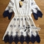 Lady Sweet Vintage Insert Lace Embroidered Cotton Dress thumbnail 13
