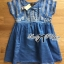 Lady Sweet Effortless Embroidered Denim Dress thumbnail 12