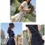 Set2ชิ้น เสื้อ+กระโปรงใหมพรมทรงสวิง thumbnail 2