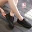 รองเท้าผ้าใบแฟชั่นแพลตฟอร์ม ทำจากผ้าใบสีทูโทนสดใสด้านนอก-ใน thumbnail 13