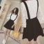 daisy stretch lace cotton andblack skirt Empoli set thumbnail 4